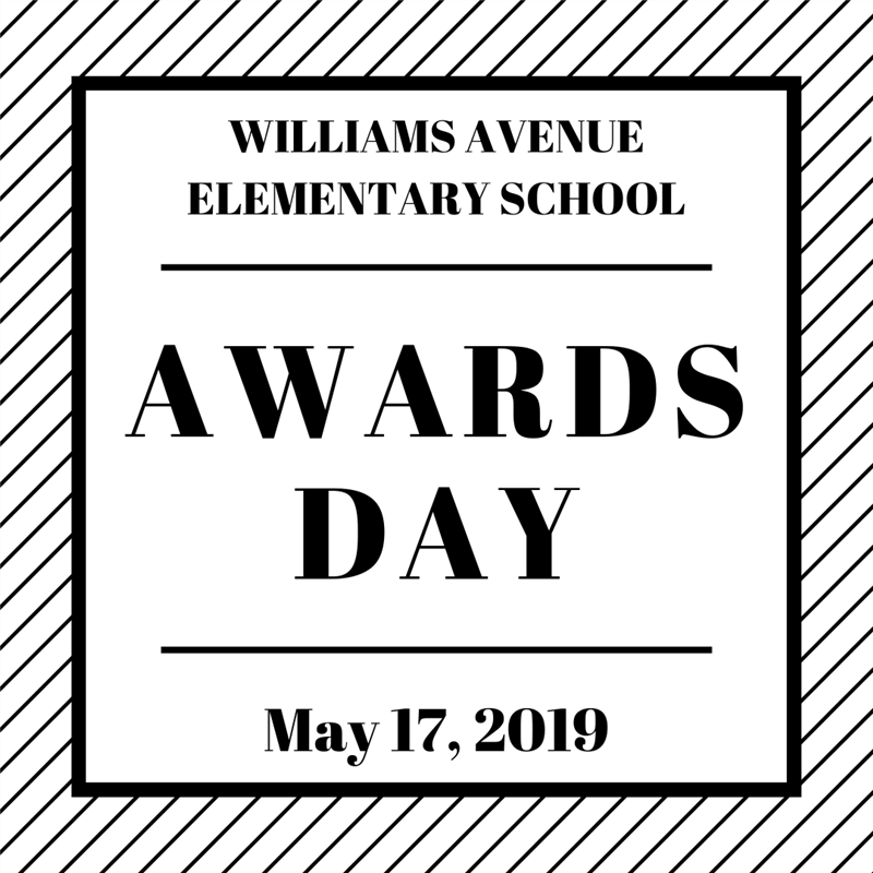 Awards Day- May 17