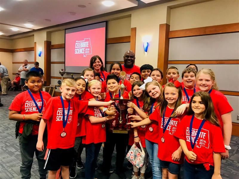 WAES Students Take First Place at the McWane Science Competition
