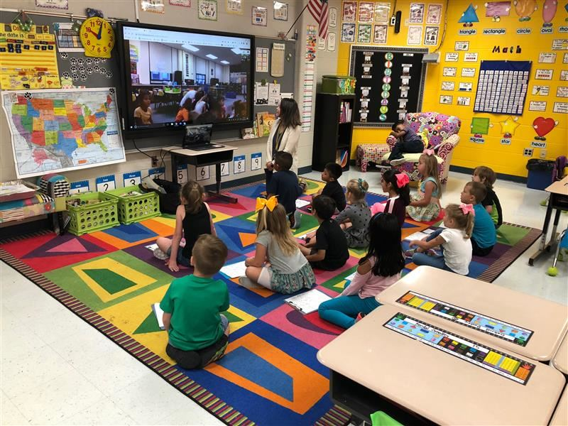 Mrs. Wilson's Class Participates in The Global Read Aloud