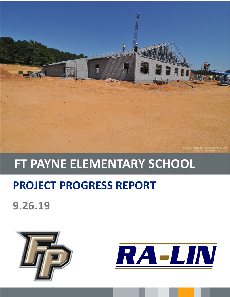 New School Progress Report