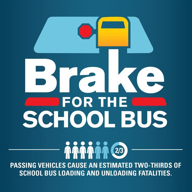 Keep Bus Safety in Mind: If the lights are flashing, NO PASSING!
