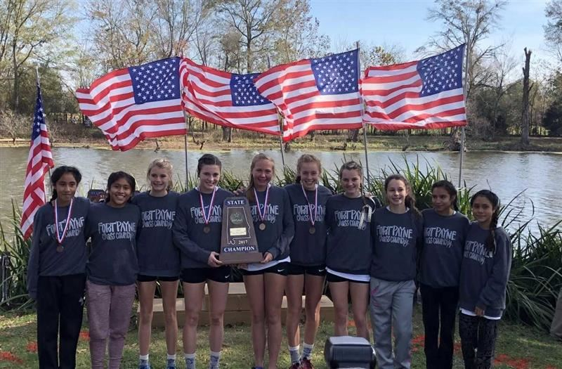 FPHS Girls Cross Country Team Wins State!