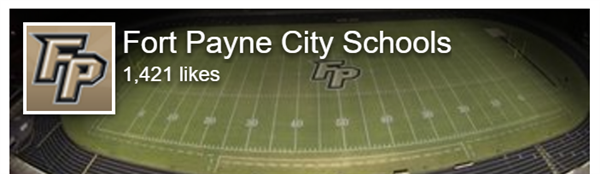 Fort Payne City Schools Facebook Header