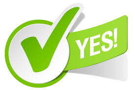 Vote Yes Clipart