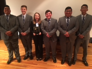FPHS Real World Design Team Wins Award in national competition!