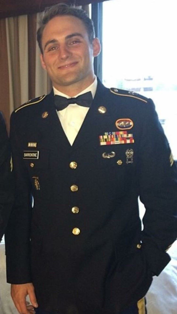November Alumnus of the Month is SSG Benjamin Barrontine - Read More...