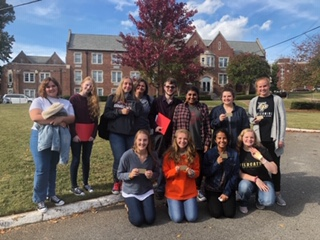 Mrs. Maxwell's Writing Competition Team Place 3rd at JSU Writers Bowl Competition Today on 10/31!