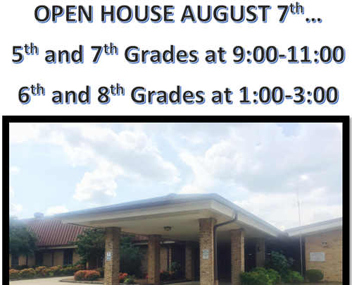 FPMS Open House is August 7th!